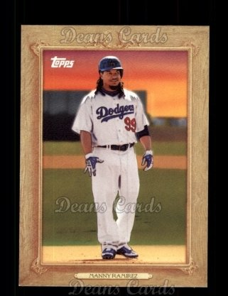 2010 Topps Turkey Red #12 TR Manny Ramirez