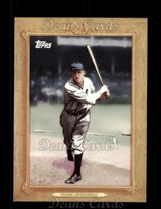 2010 Topps Turkey Red #15 TR Hank Greenberg