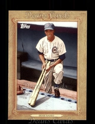 2010 Topps Turkey Red #25 TR Ernie Banks