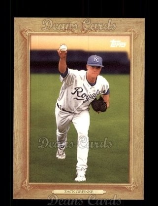 2010 Topps Turkey Red #32 TR Zack Greinke