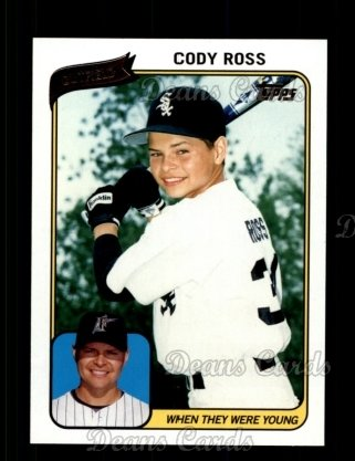 2010 Topps When They Were Young #5 WTWY  -  Cody Ross When They Were Young