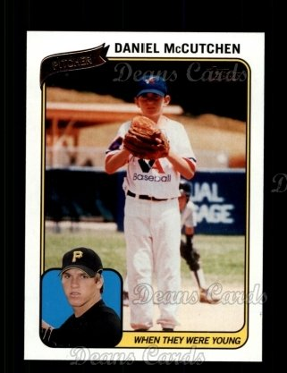 2010 Topps When They Were Young #7 WTWY  -  Daniel McCutchen When They Were Young