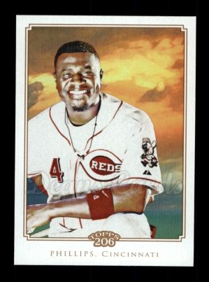 2010 Topps 206 #296  Brandon Phillips