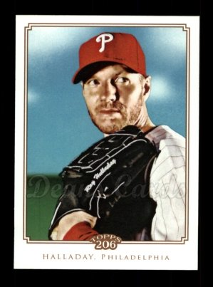 2010 Topps 206 #304  Roy Halladay