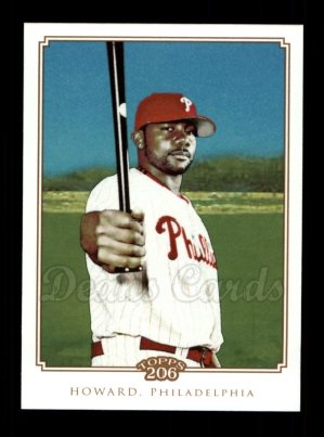 2010 Topps 206 #336  Ryan Howard