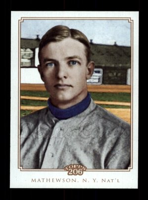 2010 Topps 206 #99  Christy Mathewson