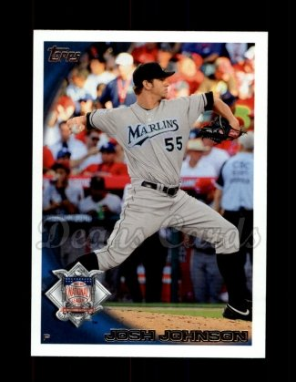 2010 Topps Update #160  Josh Johnson