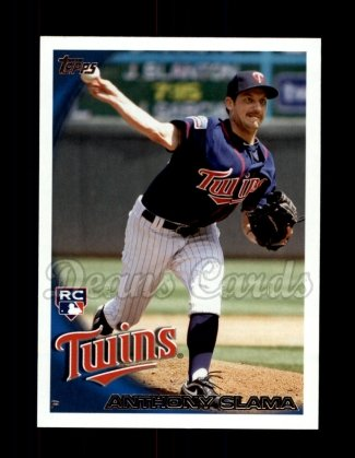 2010 Topps Update #41  Anthony Slama