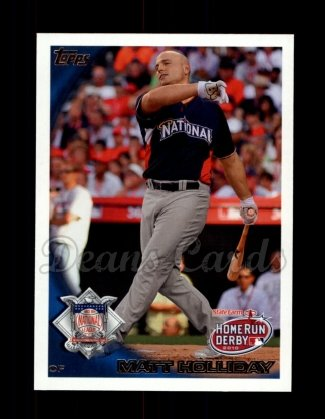 2010 Topps Update #56  Matt Holliday
