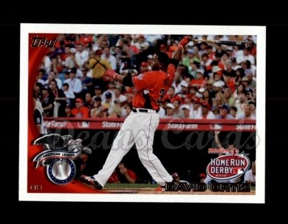 2010 Topps Update #63  David Ortiz