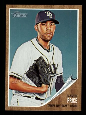 2011 Topps Heritage #100  David Price
