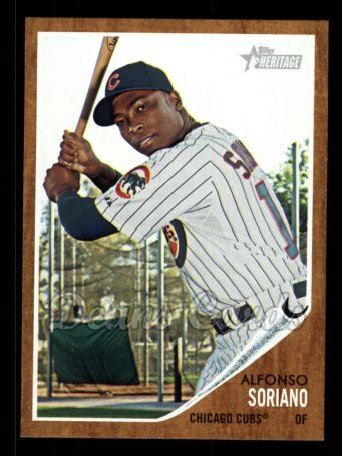 2011 Topps Heritage #115  Alfonso Soriano