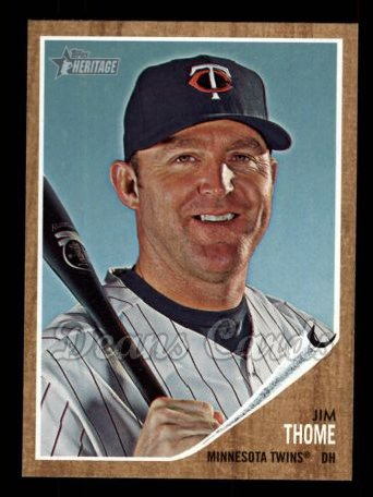 2011 Topps Heritage #180  Jim Thome