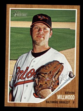 2011 Topps Heritage #203  Kevin Millwood