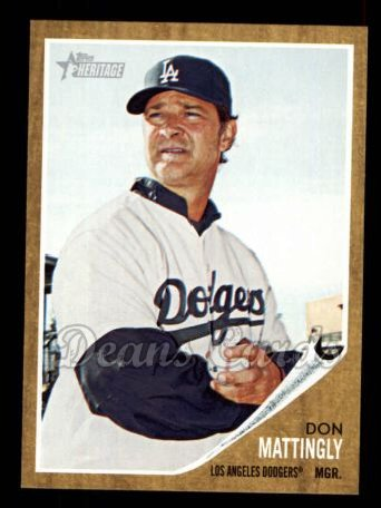 2011 Topps Heritage #217  Don Mattingly