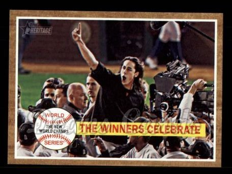2011 Topps Heritage #237   -  Tim Lincecum The Winners Celebrate