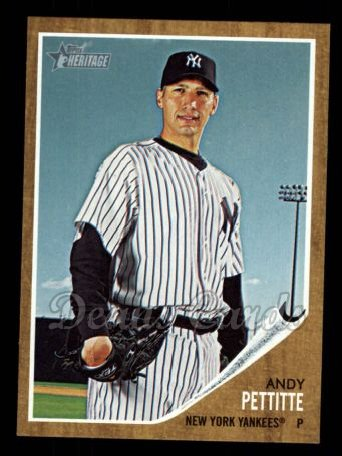 2011 Topps Heritage #310  Andy Pettitte