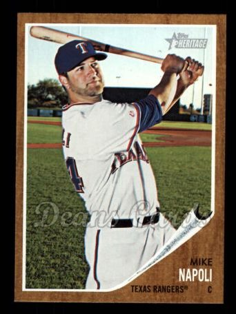2011 Topps Heritage #330  Mike Napoli