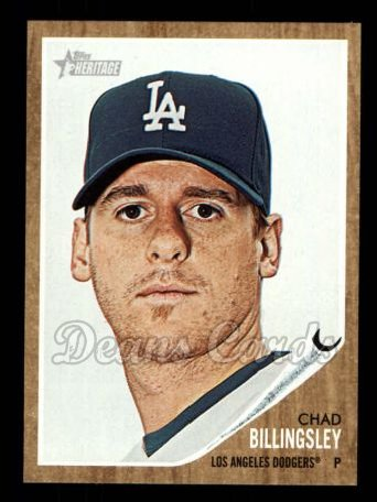2011 Topps Heritage #340  Chad Billingsley
