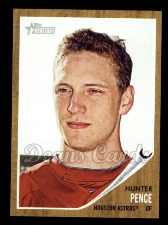 2011 Topps Heritage #354  Hunter Pence
