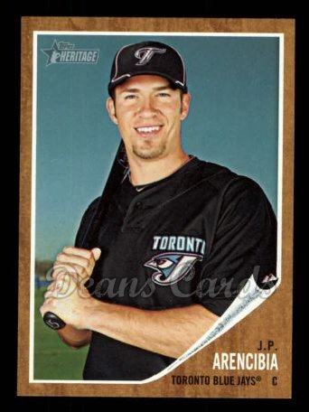 2011 Topps Heritage #368  J.P. Arencibia