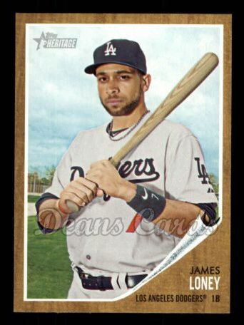 2011 Topps Heritage #375  James Loney