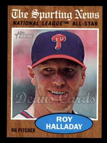 2011 Topps Heritage #399   -  Roy Halladay All-Star