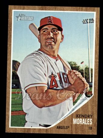 2011 Topps Heritage #422  Kendry Morales