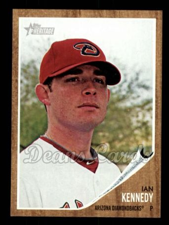 2011 Topps Heritage #458  Ian Kennedy