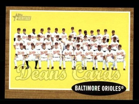 2011 Topps Heritage #476   Orioles Team