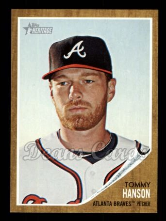 2011 Topps Heritage #63  Tommy Hanson