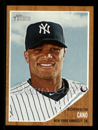 2011 Topps Heritage #65  Robinson Cano