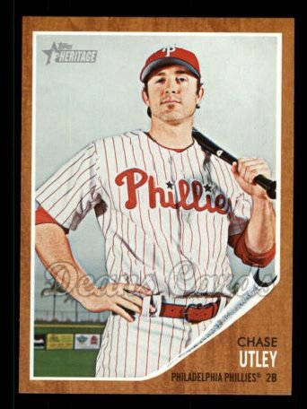 2011 Topps Heritage #77  Chase Utley