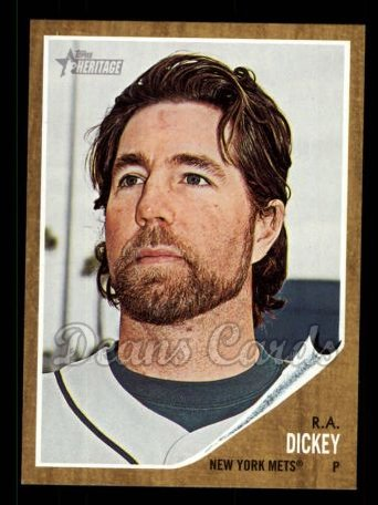 2011 Topps Heritage #94  R.A. Dickey