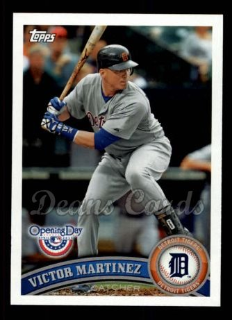 2011 Topps Opening Day #104  Victor Martinez