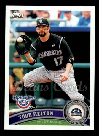 2011 Topps Opening Day #106  Todd Helton