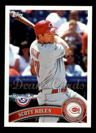 2011 Topps Opening Day #107  Scott Rolen