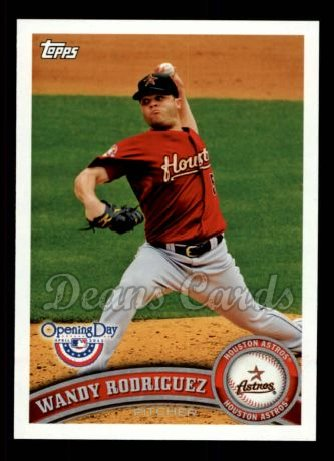 2011 Topps Opening Day #113  Wandy Rodriguez