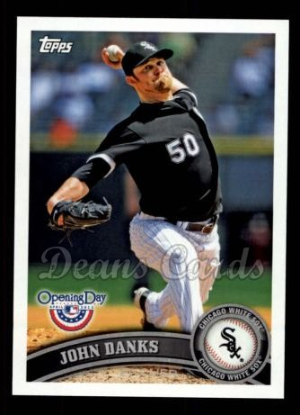 2011 Topps Opening Day #121  John Danks