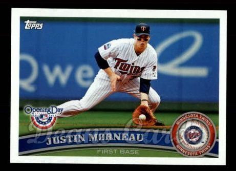 2011 Topps Opening Day #130  Justin Morneau