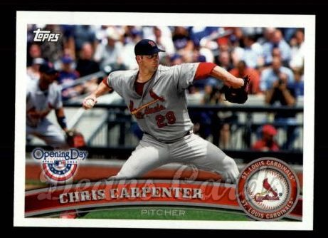 2011 Topps Opening Day #131  Chris Carpenter