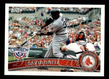 2011 Topps Opening Day #135  David Ortiz