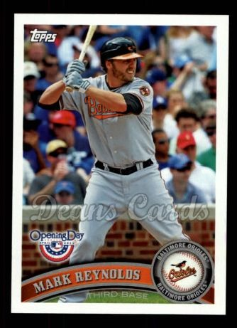 2011 Topps Opening Day #152  Mark Reynolds