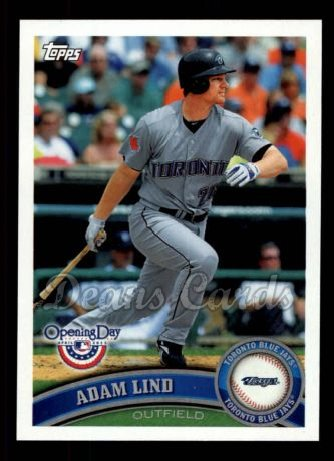 2011 Topps Opening Day #157  Adam Lind