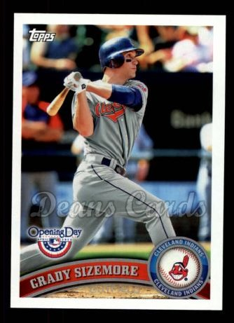 2011 Topps Opening Day #164  Grady Sizemore