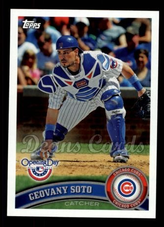 2011 Topps Opening Day #167  Geovany Soto