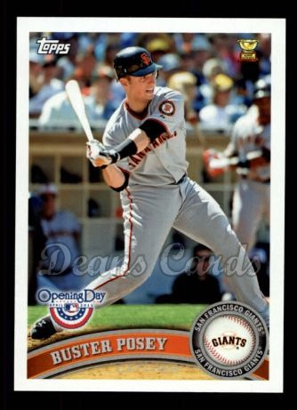 2011 Topps Opening Day #174  Buster Posey
