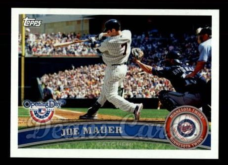 2011 Topps Opening Day #178  Joe Mauer