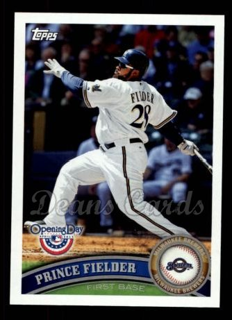 2011 Topps Opening Day #179  Prince Fielder