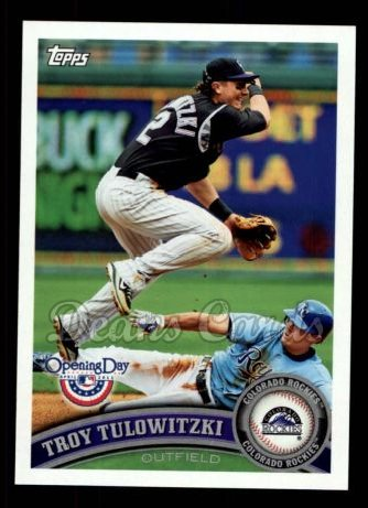 2011 Topps Opening Day #182  Troy Tulowitzki